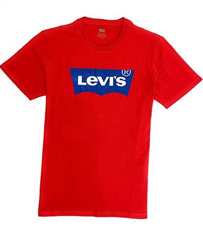 Levi's Graphic Set-in Neck 17783-0110 - Camiseta para hombre rojo M