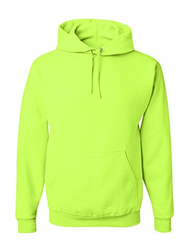 Jerzees Men's NuBlend Fleece Sweatshirts & Hoodies, Pullover-Safety Green, Medium