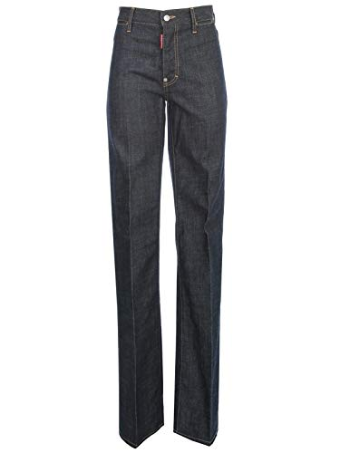 Luxury Fashion | Dsquared2 Dames S75LB0320S30144470 Donkerblauw Katoen Jeans | Lente-zomer 20
