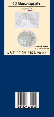 40 Münzkapseln Prophila 33 mm zB 10 DM- / 10 Euro