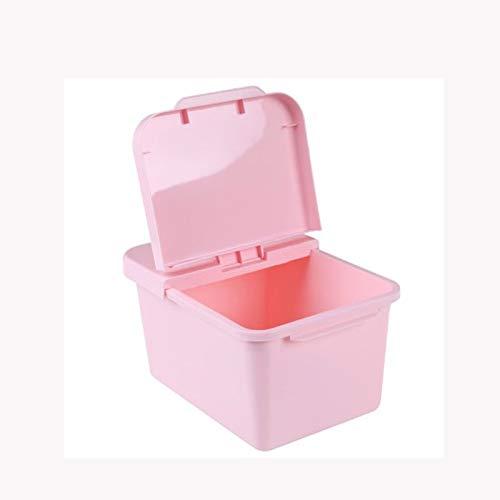 WZHZJ Cocina de plástico sellada a Prueba de Humedad de Gran Capacidad Grano de arroz Harina de contenedores de Almacenamiento de Alimentos de la Cocina Congelador organizar Caja (Color : B)