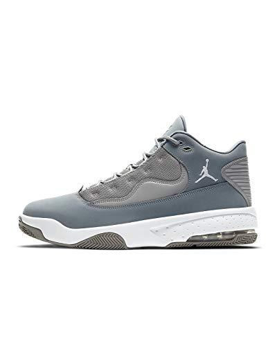 Nike Jordan MAX Aura 2, Zapatillas de básquetbol para Hombre, Medium Grey White Cool Grey, 42.5 EU