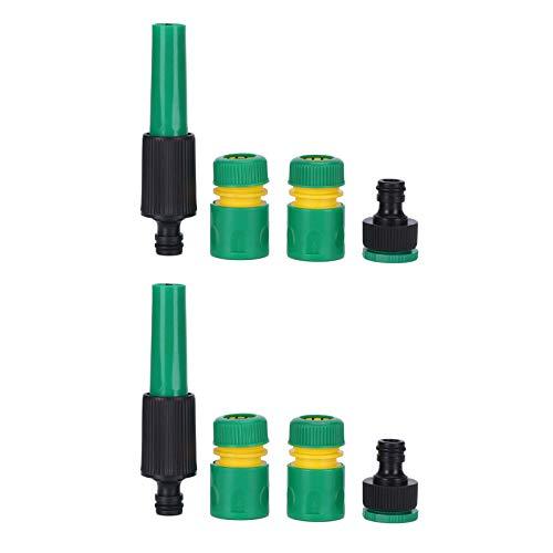 BWLZSP Manguera de conexión para rociador de Agua, 2 Juegos G1/2, Juego de Conectores para rociador de Agua, conexión de riego para jardín