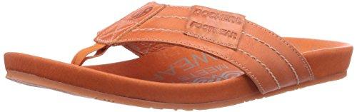 Dockers By Gerli 36Br001-120930, Mules Adulte Mixte, Orange (Orange 930), 46
