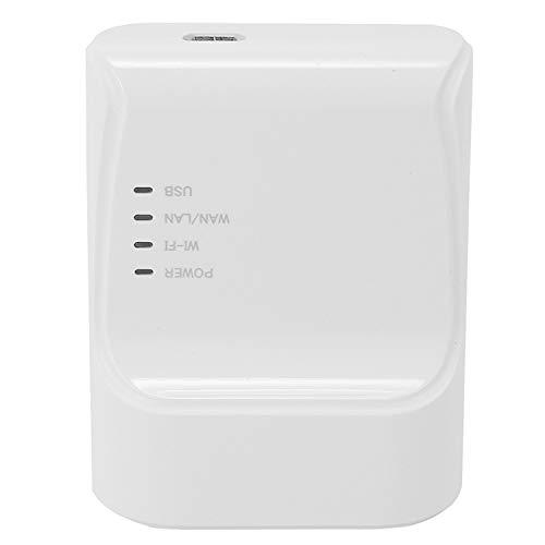 Tuneway WiFi Ethernet USB Printe Server Auto Queue Connect una TravéS de Wifiand100M LAN para Impresora USB Laptop Pc Enchufe de la UE