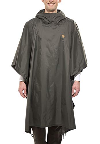 Fjallraven Poncho Sport Jacket, Graphite, 1 Size