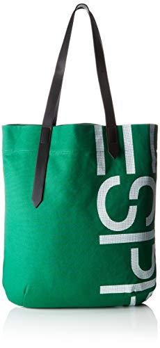 Esprit Accessoires Damen 039ea1o005 Schultertasche, Grün (Emerald Green), 12x50x44 cm