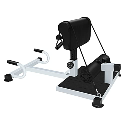 Sissy Squat Maschine, Enow 4-in-1 Multifunktional Squat Trainer, Faltbar Heimfitnessgeräte für Männer und Frauen, Taille, Bauchmuskeln, Arme und Gesäß Einwirken,Heimgewichtsverlust Fitnessgeräte