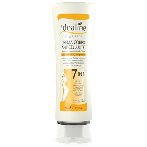 Crema Anticellulite Professionale 7in1 BIO Snellente Rassodante Corpo Ultra Intensivo 200ml Idealine