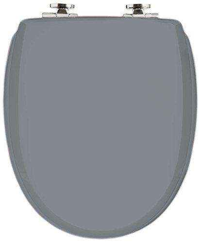 WC Sitz mit Absenkautomatik | Premium Toilettensitz mit Absenkmechanismus und Quick-Release Funktion zur einfachen Reinigung | Qualitätsprodukt Made in Sweden (shadow)