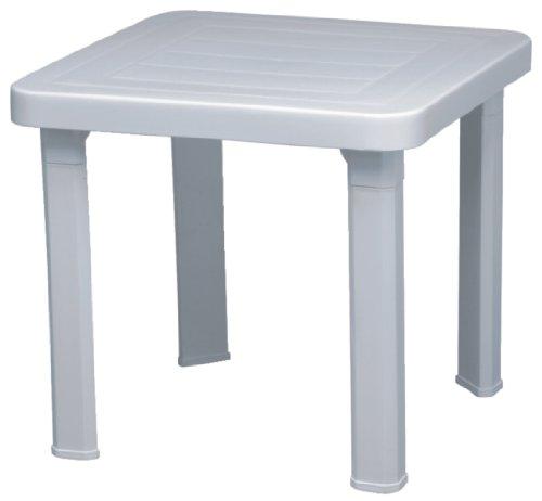 Resol cf116 Sun Chaise longue table d'appoint, blanc (Lot de 6)