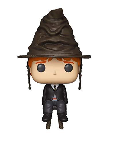 Funko POP! Harry Potter: Ron con el sombrero seleccionador