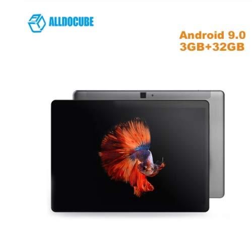 Último Android 9.0 10.1 Pulgadas 1200 * 1290 Alldocube iplay10 Pro Tablet PC MT8163 Quad Core 3G RAM 32G ROM HDMI GPS BT 6600mAh Batería