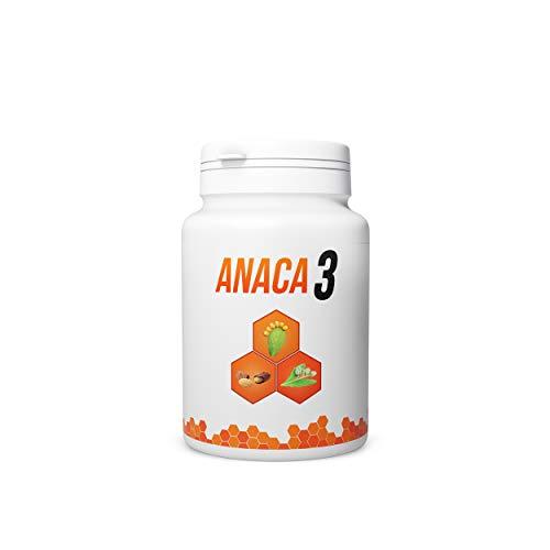 Anaca3 – Perte de Poids – Brûle-Graisses (2) & Réduction de l'appétit (3) – Complément Alimentaire – Programme 30 jours – 90 gélules