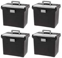 IRIS Portable Letter Size Hanging with Box Storage Organize File 希望者のみラッピング無料 在庫一掃売り切りセール
