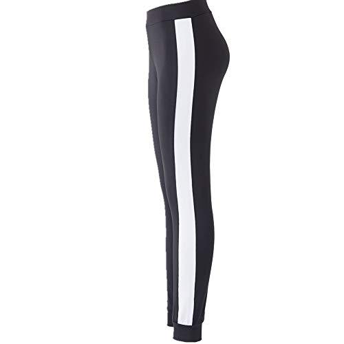 Damen Wet-look Shiny PVC Hohe Taille Treggings Skinny Disco Vinyl Pencil Legging