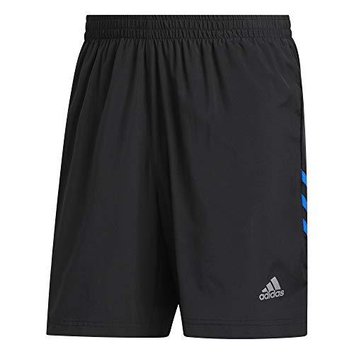 adidas Run It 3S Short Pantalón Corto, Hombre, Negro/azuglo, 2XL9