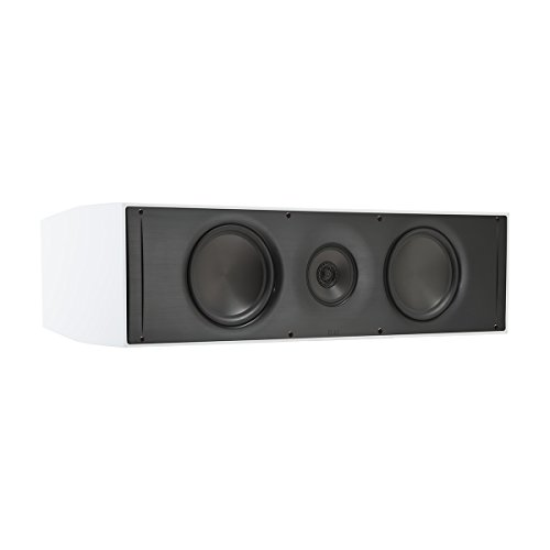 Review Elac AC61 Adante Center Channel Speaker - Gloss White