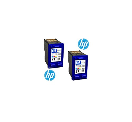 Cartuccia d'inchiostro HP n. 57 Cyan/Magenta/Yellow Pack of 2