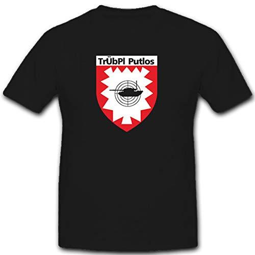 TrÜbPl Truppenübungsplatz Putlos Manöver Gelände Bundeswehr BW - T Shirt #7454, Größe:3XL, Farbe:Schwarz