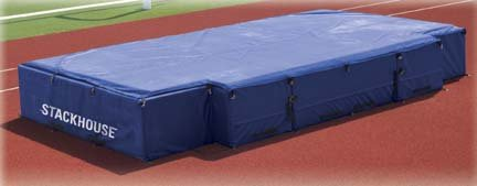 Stackhouse International High Jump Landing Pit System with Cut Out - 18' x 10' x 28