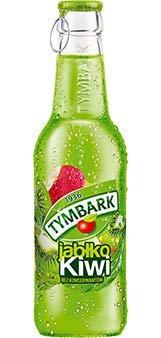 Tymbark Apfel Kiwi, Erfrischungsgetränk 24 Flaschen je 250ml / Jablko Kiwi