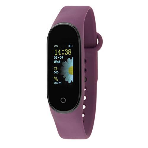 Nowley Brazalete Digital smartwatch Morado m4