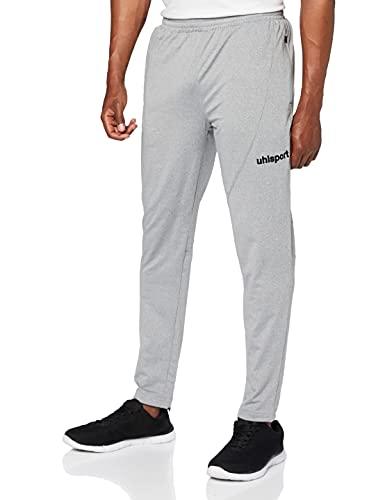 uhlsport 100516605 Pantalon Homme, Gris Foncé Mélange/Noir, FR (Taille Fabricant : XL)