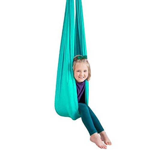 Hamaca para Niños Swing de Terapia Columpio De Terapia De Interior Columpio De Terapia Hamaca Voladora De Yoga Cubierta Al Aire Libre Oscilación Terapia Sensorial Para Niños Adultos Terapia De Autismo