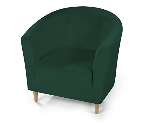 Dohle + Menk Susi Funda para sillón, poliéster, Verde Oscuro