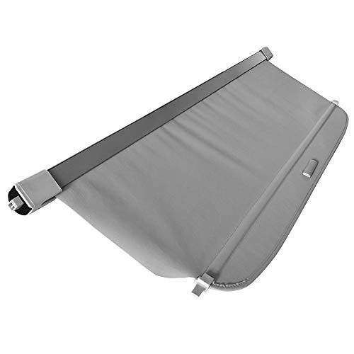 Cargo Cover Compatible With 2007 2017 Jeep Compass Patriot Grey Pu Tonneau Cover Retractable By Ikon Motorsports 2008 2009 2010 2011 2012 2013 2014 2015 2016 Wantitall