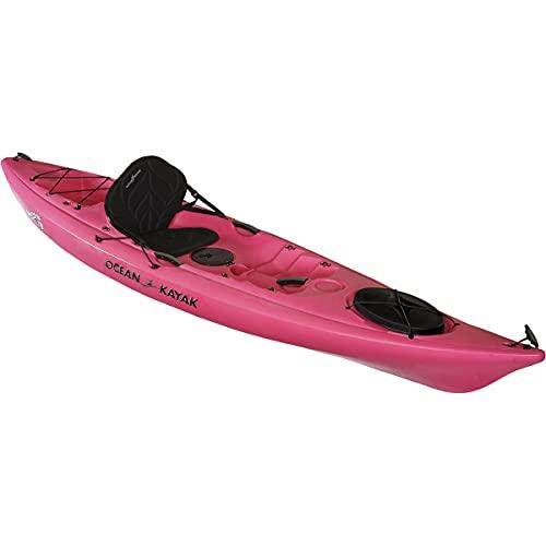 Ocean Kayak Venus 11 One-Person Women's Sit-On-Top Kayak, Fuchsia, 10 Feet 8 Inches