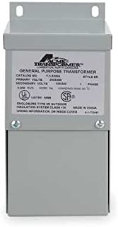Acme Electric T279742S Low Voltage Distribution Transformer, Single Phase, 120/208/240/277 Primary Volts - 120/240 Secondary Volts, 2 kVA