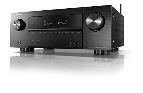 デノン Denon AVR-X2600  AVサラウンドレシーバー 7.2ch Dolby Atmos Height Virtualizer/ミドルクラス ブラック AVR-X2600HK