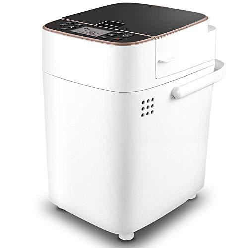 WXHHH Programmierbar Brotbackautomat,Multifunktional Vollautomatischer Frühstücksmaschine Brotbackmaschinen 27 Programme 13 Stunden Delay Timer Brotmaschine