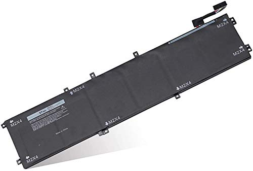 AKKEE 6GTPY Laptop Batteria per Dell XPS 15 9560 9550 9570 7590 Precision 5510 5520 M5520 i7-7700HQ 5XJ28 5D91C 5041C 05041C 11.4V 97Wh