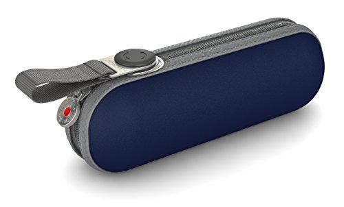Knirps Taschenschirm X1 Uni – Der kleinste Regenschirm von Knirps – Leicht und kompakt –Windproof – Navy