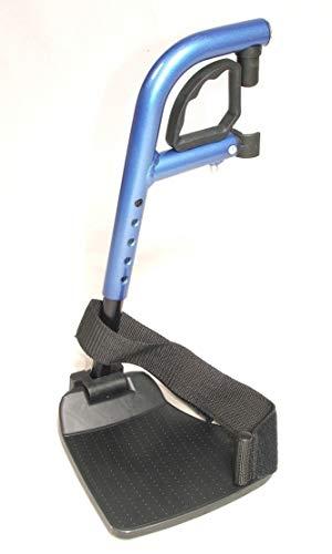 Beensteun Rechts rolstoel Pyro Start Plus Blauw