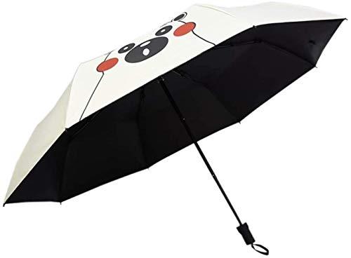 Paraguas Plegable Paraguas de Viaje portátil Paraguas automático a Prueba de Viento de Apertura/Cierre UV con Revestimiento de Secado rápido 210T Mango fácil de Transportar y Antideslizante,Color:Gree