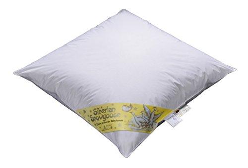 ARO Snowgoose 100% Schneegaensedaunen ,470034, 80 x 80 cm, mit superfeinem Batist,zertifiziert