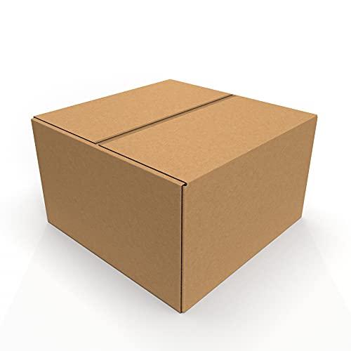 IMBALLAGGI 2000 - Scatoloni 100x100x60 cm - 10 Pezzi - Scatola di Cartone a Doppia Onda - Imballaggi per Spedizione e Trasloco