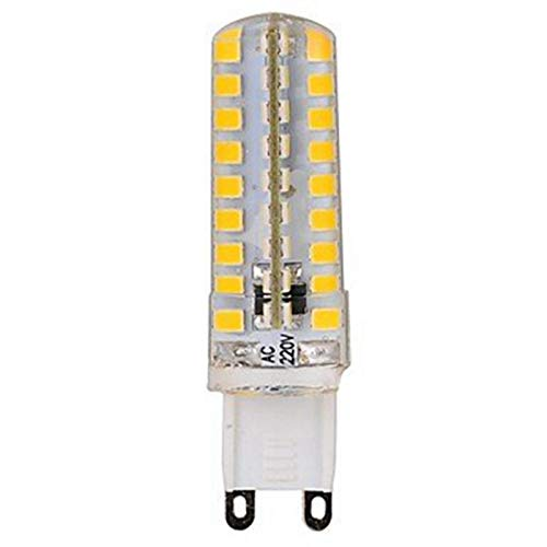 WELSUN LED G9 Ampoules 72LED SMD2835 5W 350-400LM Blanc Chaud / Cool Blanc / Dimmable / Décoratif 220V 1Pcs ( Color : Warm white )