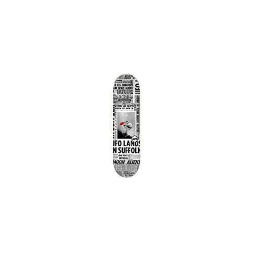 "Jarts Flying Saucers 8.0\""x31.85\"" LC Deck Skateboard, Erwachsene, Unisex, Mehrfarbig (Mehrfarbig), 8.0\"""
