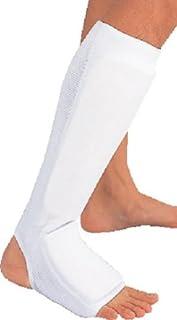 D&M 武道用プロテクター すね?足の甲用 Lサイズ ホワイトカラー #547L-W