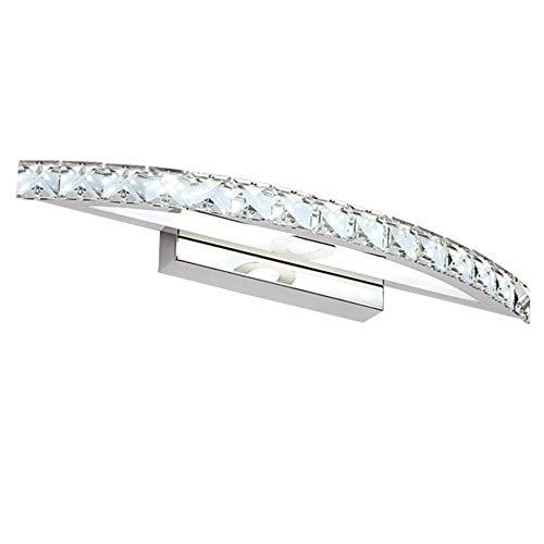 ELEYHO Crystal Badkamer Vanity Light armaturen LED Bad Spiegel Lampen Badkamer Verlichting armaturen voor Hotel Badkamer Vanity Tafel Slaapkamer