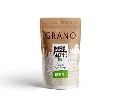Grano, uniwersalna mieszanka mąki do pieczenia, bezglutenowa, skrobia ziemniaczana, mąka ryżowa, skrobia kukurydziana, mąka gryczana, doypack, 1 kg