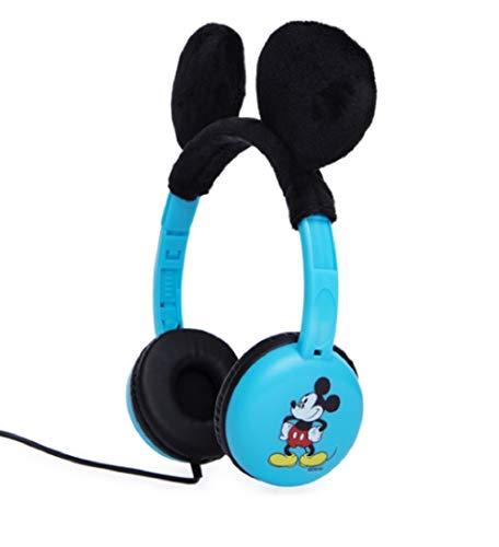 Kid Safe Over The Ear Headphones (Mickey)