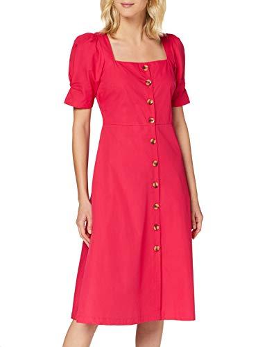 find. MDR41514 Sommerkleid Damen, Pink (Pink), 14