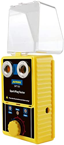 Fahrzeugzündkerzen- und Zündwerkzeuge, AutoOL SPT101-220V Zündkerzentester für Autodetektoren für 12V-Fahrzeuge