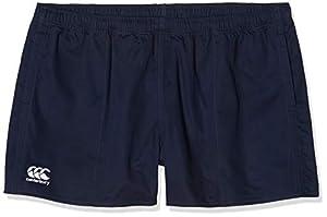 canterbury Men's Professional Cotton Shorts, Navy, L by Canterbury